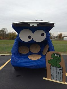 Trunk or Treat Cookie Monster