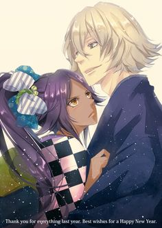 """Yoruichi and Urahara of """"Bleach"""""""