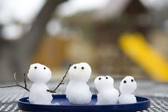 Snowman family in Tx