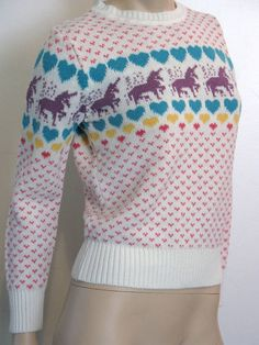 Pretty sure half the girls in my class had a sweater like this.