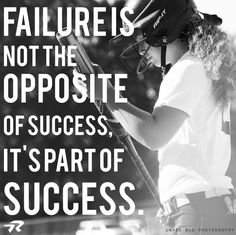 It's ok to fail. It's what you do after that that makes all the difference.  #softballstrong