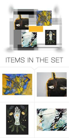 """NO-TITLE"" by info-3buu ❤ liked on Polyvore featuring art, artexpression and etsyart"