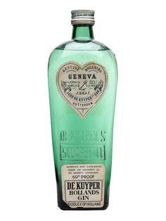 De Kuyper Geneva - Hollands Gin - : The Whisky Exchange Whisky, Beverage Packaging, Bottle Packaging, Bottle Labels, Alcohol Bottles, Liquor Bottles, Gin Joint, London Gin, Gin Brands
