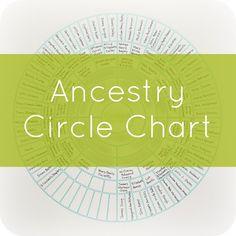 charts, ancestri, family trees, circl chart, hous, mum ideas, anniversary gifts, famili histori, silhouette cameo
