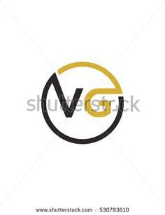V G initial logo icon