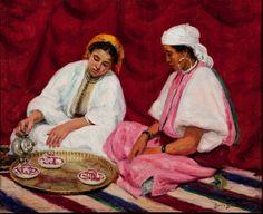 Mulheres Tanger 1922 Dario Villares Barbosa