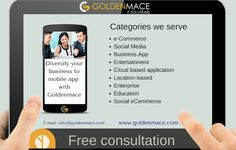 Diversify your business to mobile app with Goldenmace contact us @goldenmace.com #mobileapp #businessgrowth #goldenmace