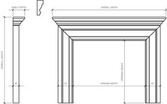 Siteworks Therese Fireplace Mantel - Fireplace Surround