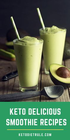 5 yummy low-carb recipes for smoothie lovers on the Keto diet. yummy low-carb recipes for smoothie lovers on the Keto diet. Keto Foods, Ketogenic Recipes, Ketogenic Diet, Ketogenic Breakfast, Lchf Diet, Smoothie Fruit, Smoothie Vert, Cheap Clean Eating, Clean Eating Snacks