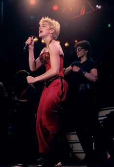 On September 4 1987, Madonna performed the second-to-last show of her Who's That Girl World Tour at the Stadio Comunale in Turin, Italy.