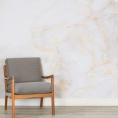 White and Gold Marble Wallpaper
