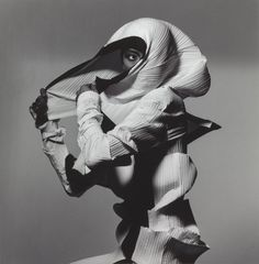 Image from Issey Miyake Fashion: White and Black, by Irving Penn New York, 1990, printed 1992
