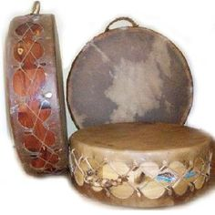 Sweat Lodge Drums used in sacred Inipi ceremony by Native American Indians. Two-sided Authentic Indian drum by Native American drum maker, Keith Little Badger, The Drum People Native American Music, Native American Beauty, American Indian Art, Native American Indians, Indian Tribes, Native Indian, Native Art, Sweat Lodge, Drums