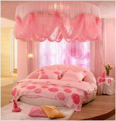 Canopy designs for the bed