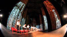 Spektakl Świątynia sztuk wszelkich jest próbą opowiedzenia w sposób plastyczny i wrażeniowy niezwykle złożonej historii miejsca, które gmina Ewangelicko-Augsburska przekazała Państwu Polskiemu z przeznaczeniem na centrum kultury.   Więcej informacji: http://tiny.pl/q4n8g
