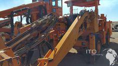 Used Tamrock Minimatic Boomer http://www.ito-germany.de/sandvik-tamrock-minimatic-h207-gebraucht-bohrgeraet-tbm #sandvik #boomer #minimatic #baumaschinen #mining #atlascopco #underground