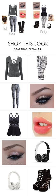 """""""Arrival at the Arena"""" by katie88styles on Polyvore featuring Charlotte Tilbury, Beats by Dr. Dre and GUESS"""