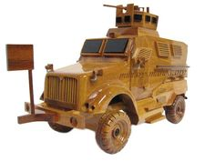 Navistar International Maxx Pro MaxxPro MRAP IED Truck Army Wood Wooden Model by MilitaryMahogany on Etsy