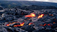 26. Experience the power of Pele, the Hawaiian Goddess of Fire, at Hawaii Volcanoes National Park.
