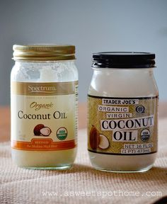Beauty - Coconut Oil Uses