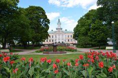 kuva Finland, Taj Mahal, Scenery, Sidewalk, Statue, Mansions, House Styles, Building, Parks