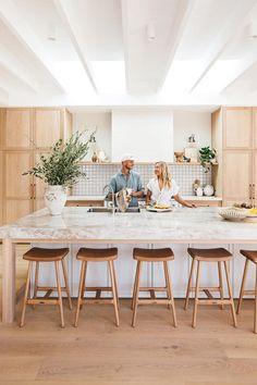 Home Decor Kitchen, Kitchen Living, Home Kitchens, Coastal Kitchens, Open Kitchen, Interior Desing, Interior Design Kitchen, Deco Design, Blog Design
