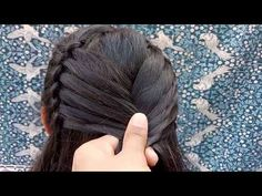 Fashionable hairstyles for 2018 tutorials step by step easy and Cute Hairstyles For Medium Hair, Medium Hair Styles, Curly Hair Styles, Natural Hair Styles, Party Hairstyles, Girl Hairstyles, Braided Hairstyles, Braided Locs, Stylish Hairstyles
