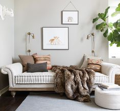 the Nursery with Camille Styles.Again Modern Neutral Safari-Inspired Nursery with Daybed - love the furniture and decor in this chic baby room!Modern Neutral Safari-Inspired Nursery with Daybed - love the furniture and decor in this chic baby room! Nursery Furniture, Nursery Decor, Room Decor, Nursery Daybed, Project Nursery, Safari Nursery, Nursery Ideas, Room Ideas, Beach Furniture