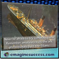 If you never try anything new you, never get anything different. #thinkdifferent #bartism http://emaginesuccess.com