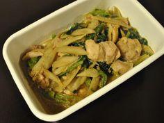 常備菜 : 鶏肉とごぼうの煮物