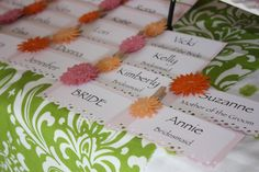 Bridal Shower Name Tags