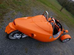 Grinnall Scorpion III - uses mid mounted BMW K-Bike Engine and drivetrain