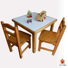 conjunto mesa con 2 sillas a $45.000 Medida de mesa  60x60 Dining Chairs, Furniture, Home Decor, Social Networks, Chairs, Dining Chair, Interior Design, Home Interior Design, Dining Table Chairs