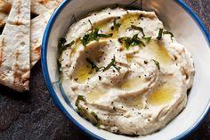 Cannellini Cilantro Hummus
