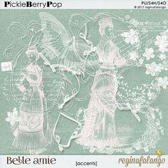 BELLE AMIE ACCENTS By Regina Falango