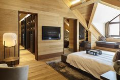 Jaeggi Architekten  » Gotthard Suite – The Chedi Andermatt