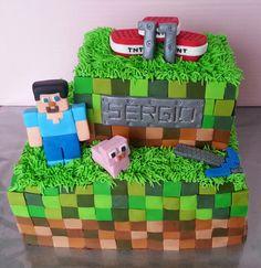 personajes de minecraft para tartas - Buscar con Google