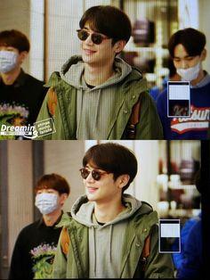 160327 Gimpo Airport From Japan #Shinee #Minho