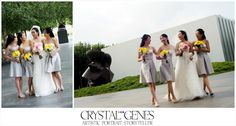 Crystal Genes Photography | NCMA Weddings
