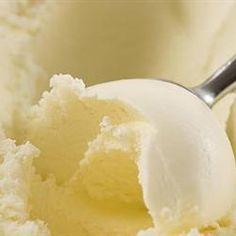 Vanilla Ice Cream--make with just beaters, instead of an ice cream machine!