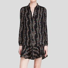 Free People | Floral dress This dress is great for every season - looks amazing with leggings and boots during cooler months and is perfect for a night out in spring & summer! In great condition - only worn twice. Free People Dresses