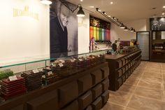 Chocolate Line, Boutiques, Hotels, Restaurant, Table, Furniture, Home Decor, Boutique Stores, Twist Restaurant