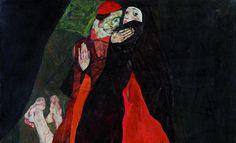 Egon Schiele, Cardinal and Nun (Caress), 1912 © Leopold Museum, Vienna, Inv. 455