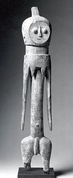 Figure: Female century Geography: Togo Culture: Moba peoples Medium: Wood Dimensions: H x W x D: 30 x 5 x 4 x x Classification: Wood-Sculpture Art Sculpture, Abstract Sculpture, Metal Sculptures, Afrique Art, Art Tribal, African Sculptures, Art Premier, Masks Art, Arte Popular