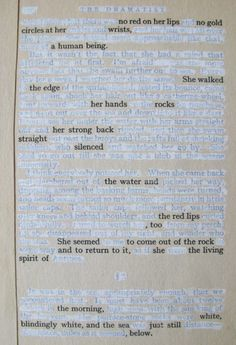 out of the rock.  found poetry.  anca gray.  2012.