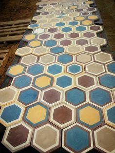 Azulejos hexagonales traffic combi 002 parquets pinterest - Azulejos hexagonales ...