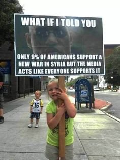 The truth about this war…