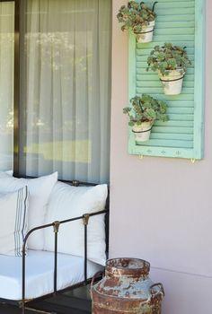 Verano en casa: Vero Palazzo - Home Deco                                                                                                                                                      Más #Huertaenbalcon