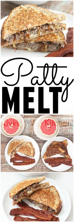 patty melt classic diner food redone this patty melt is a swiss cheese ...