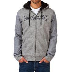 Hurley Getaway Sherpa Fleece Zip Sweatshirts Sherpa com capuz - White | Entrega gratuita
